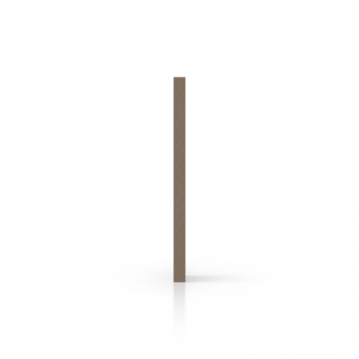 Cote plaque plexiglass satine argile