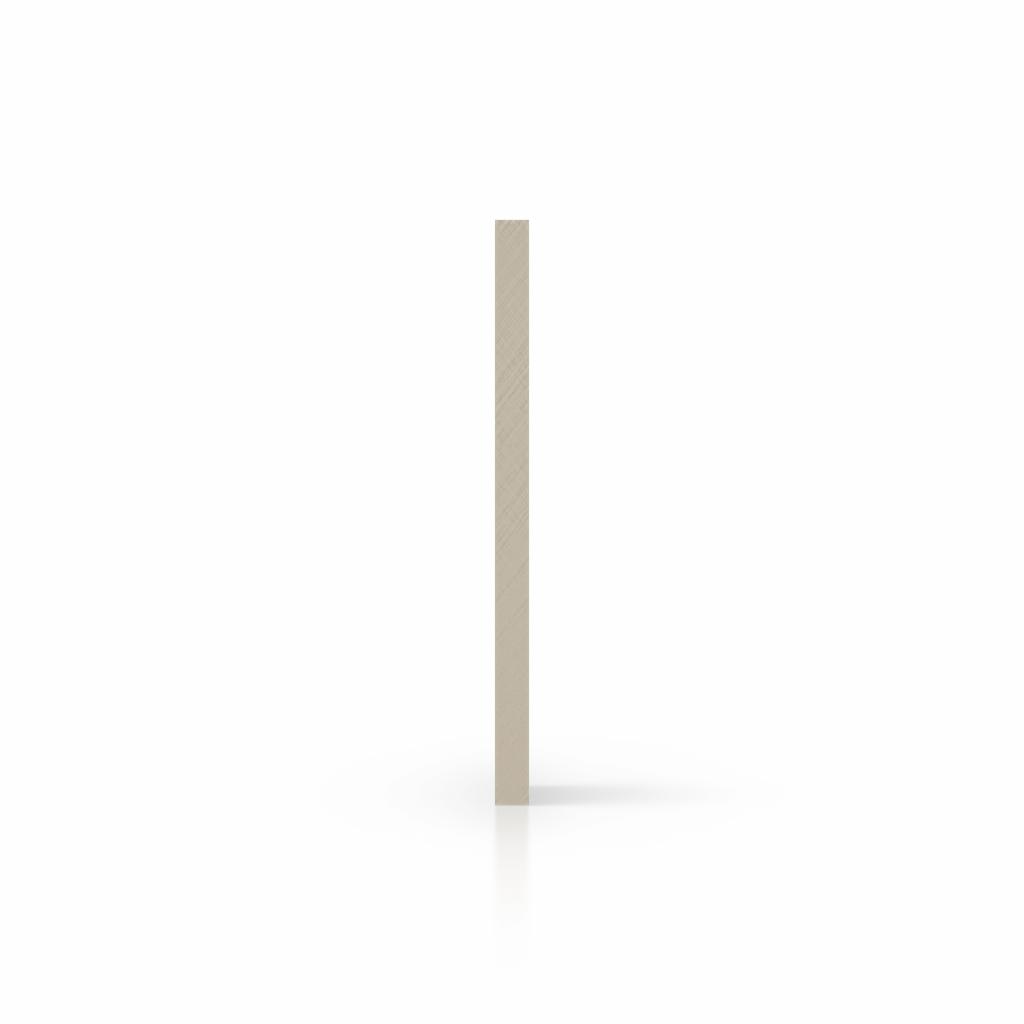 Cote plaque plexiglass satine blanc creme