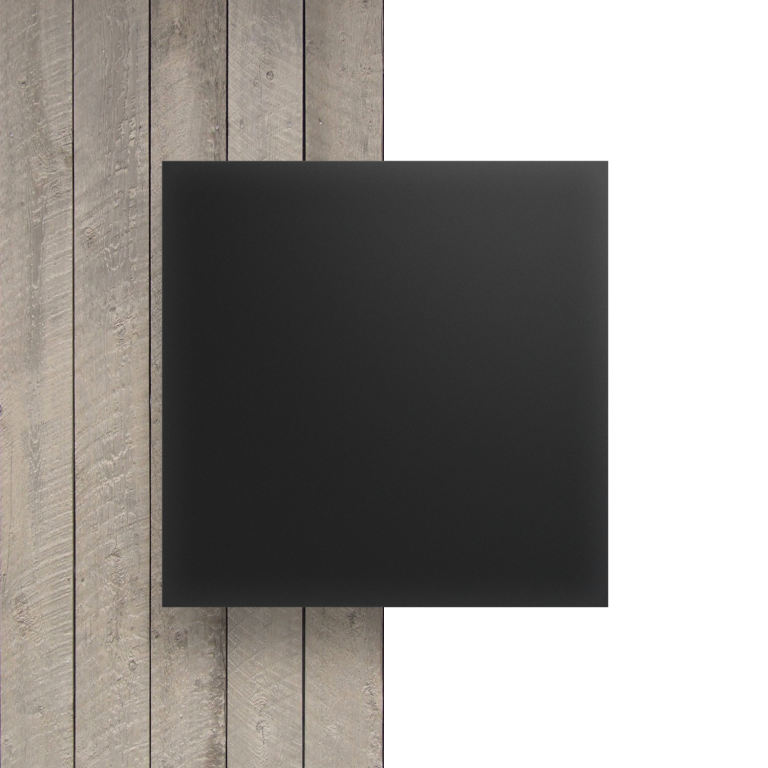 Devant plaque Plexiglass satine anthracite