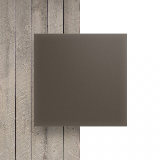 Devant plaque Plexiglass satine argile