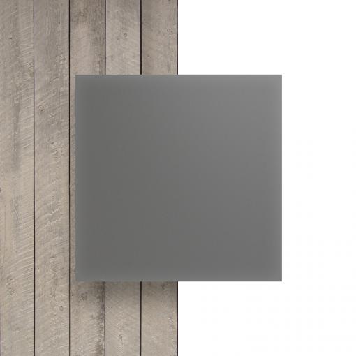Devant plaque Plexiglass satine gris cement