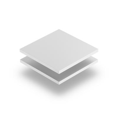 Plaque PVC expansé blanc