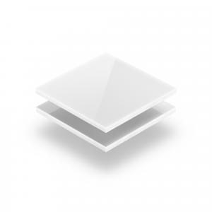Plexiglass blanc