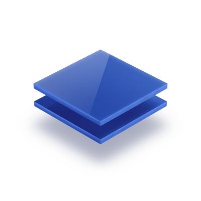 Plexiglass bleu opal