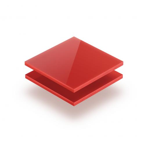 Plexiglass rouge opal