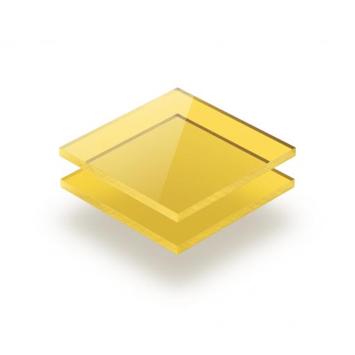 Plexiglass teinté jaune