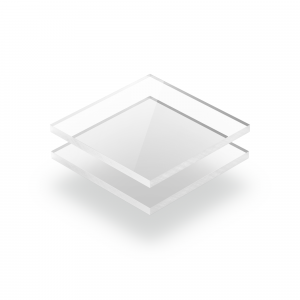 Plexiglass transparent