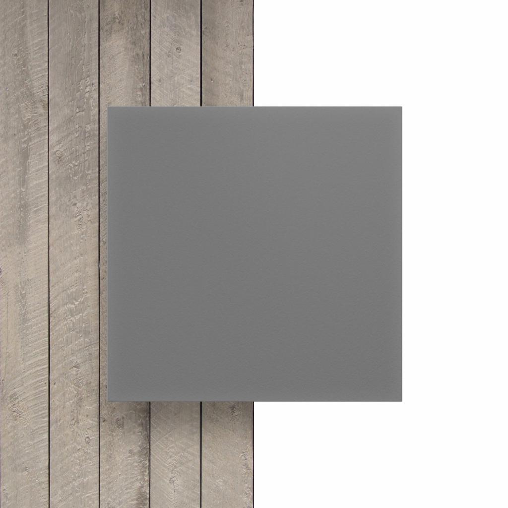 Devant PVC expansé gris