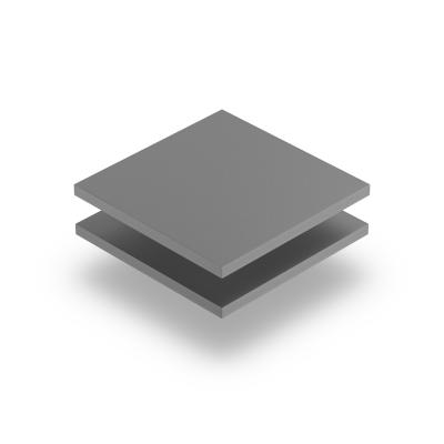 Plaque PVC expansé gris