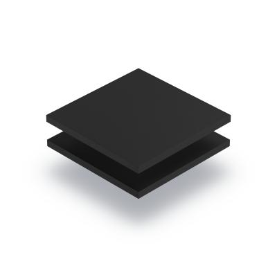 Plaque PVC expansé noir