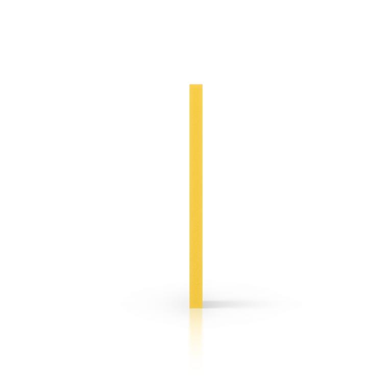 Cote PVC expansé jaune