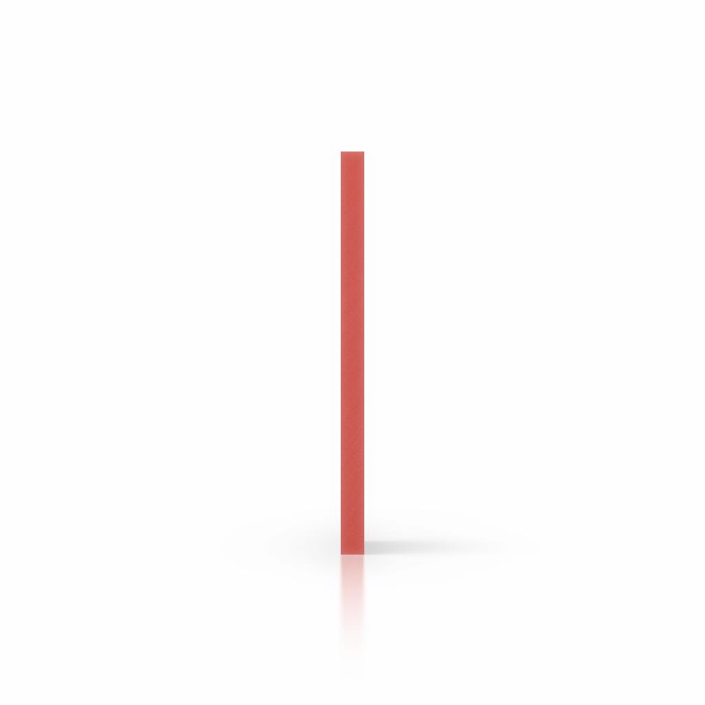 Cote PVC expansé rouge