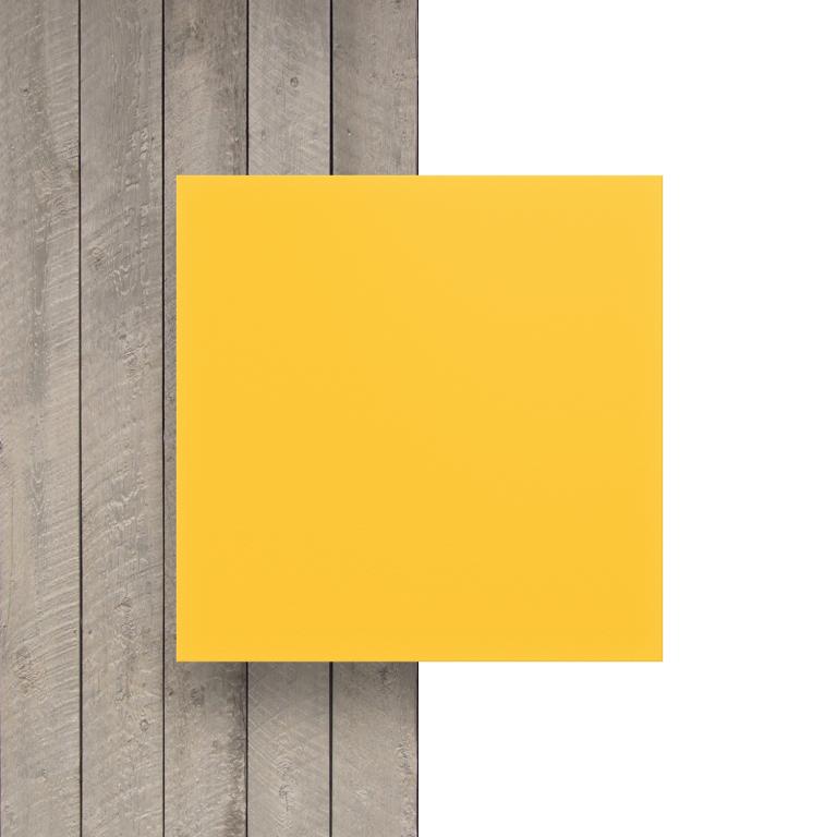 Devant PVC expansé jaune