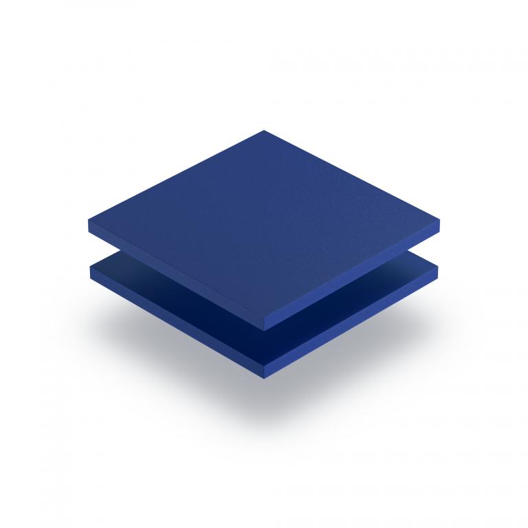Plaque PVC expansé bleu