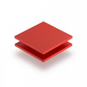 Plaque PVC expansé rouge