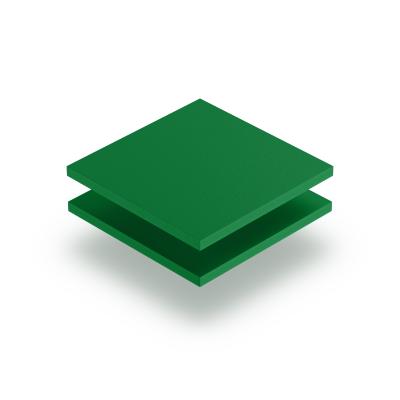 Plaque PVC expansé vert