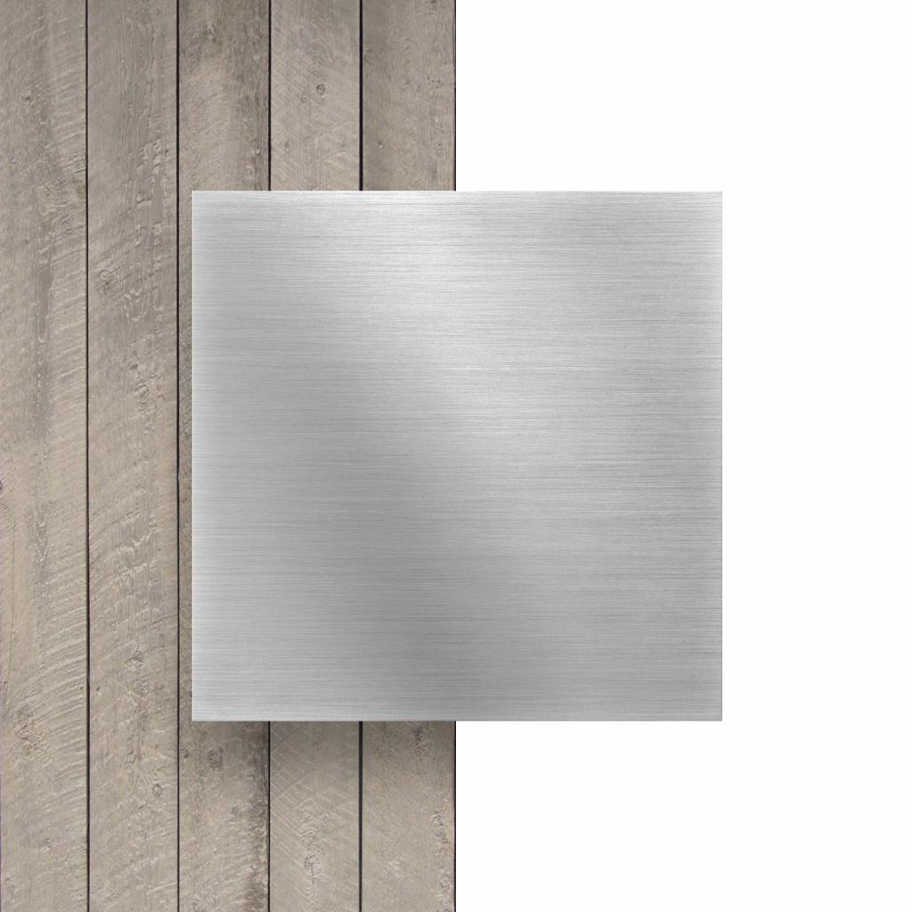 Devant composite aluminium alu brossé