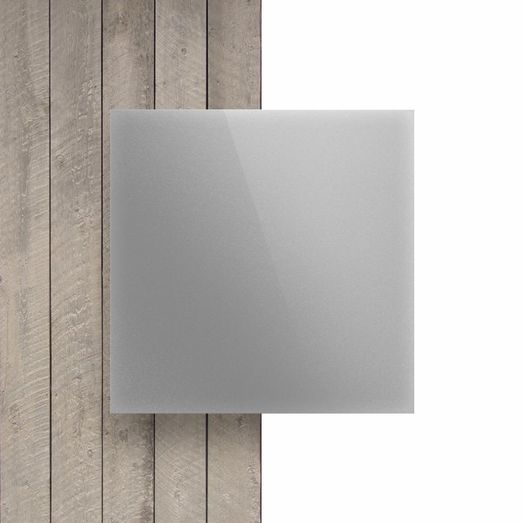 Devant composite aluminium argent