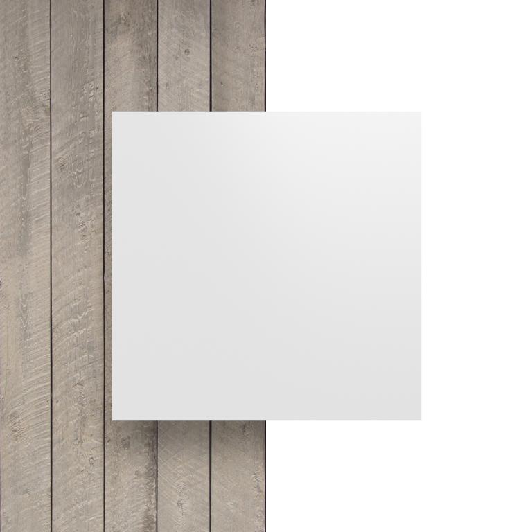 Devant composite aluminium blanc mat