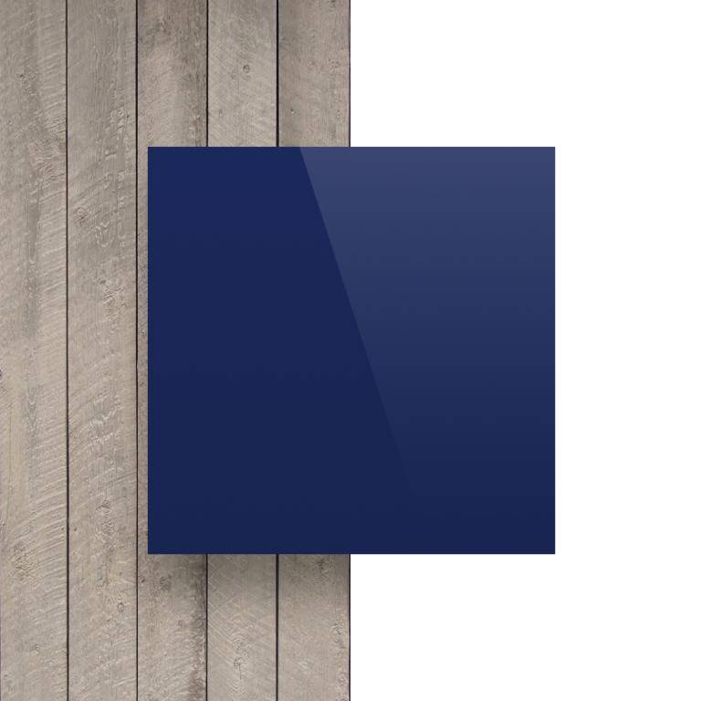 Devant composite aluminium bleu