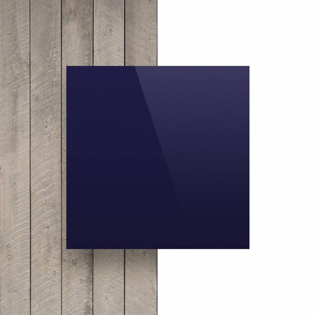 Devant composite aluminium bleu foncé