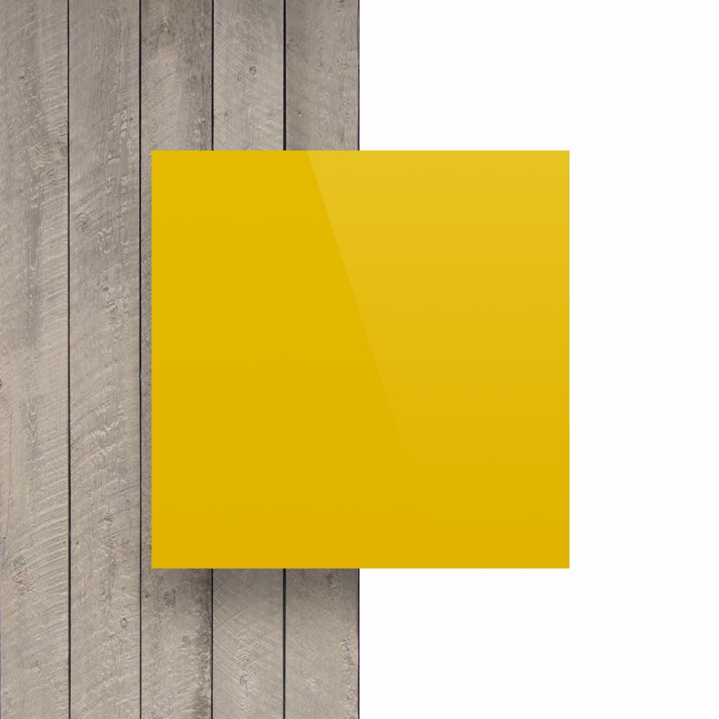 Devant composite aluminium jaune