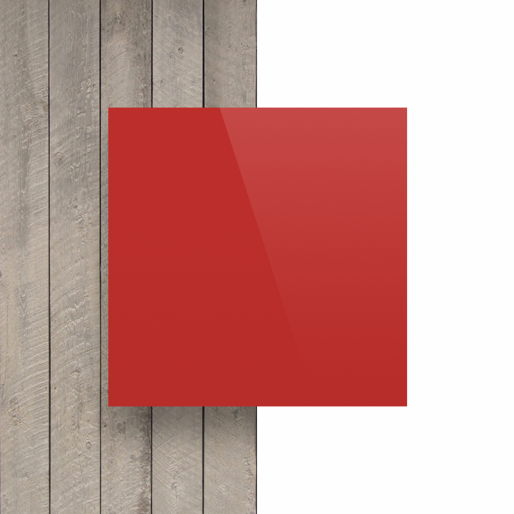 Devant composite aluminium rouge