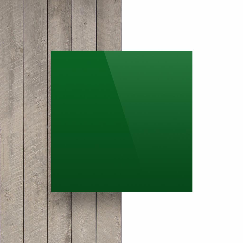 Devant composite aluminium vert