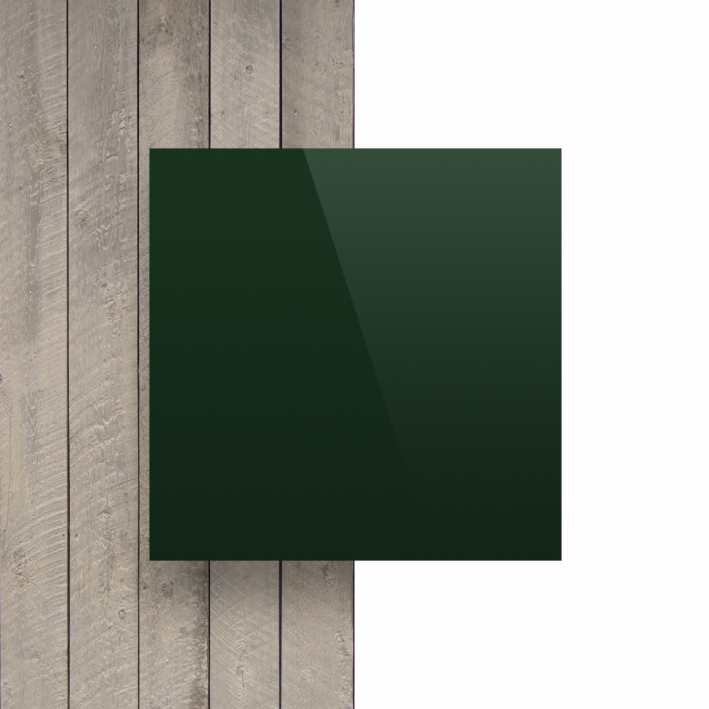 Devant composite aluminium vert foncé