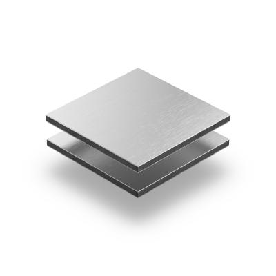Panneau composite aluminium alu brossé