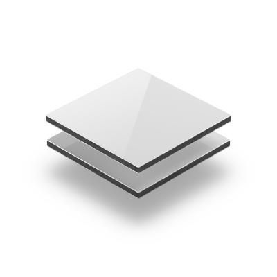 Panneau composite aluminium blanc brilliant