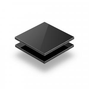 Panneau composite aluminium noir