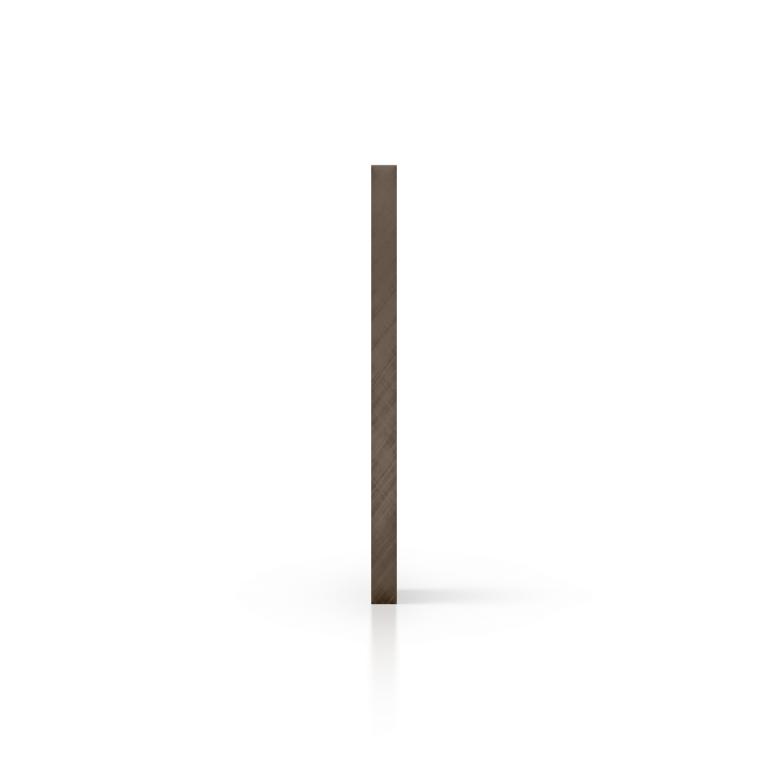 Cote polycarbonate teinté brun