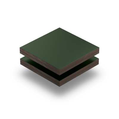Panneau HPL structuré vert sapin