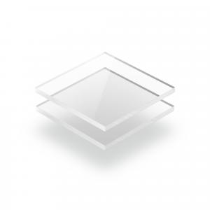 Plaque polycarbonate transparent