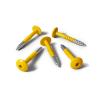 Vis HPL jaune de sécurité RAL 1003