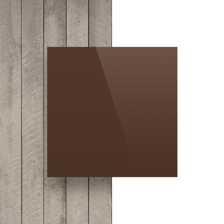 Devant composite aluminium brun