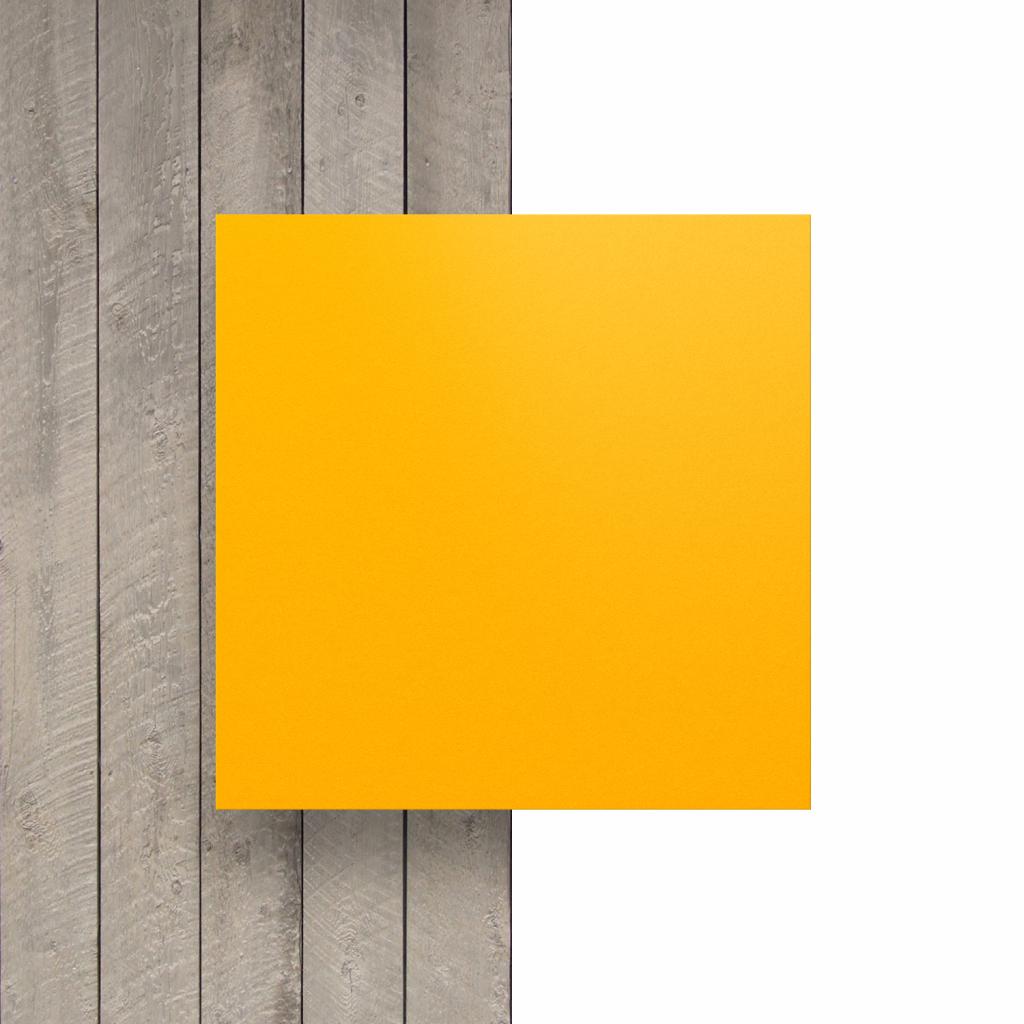 Devant HPL jaune de sécurité