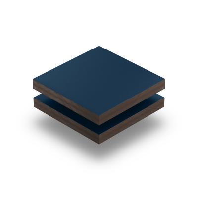 Panneau HPL structuré bleu acier