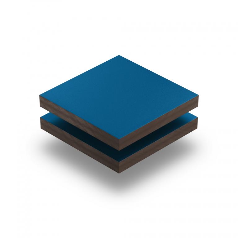 Panneau HPL structuré bleu gentiane