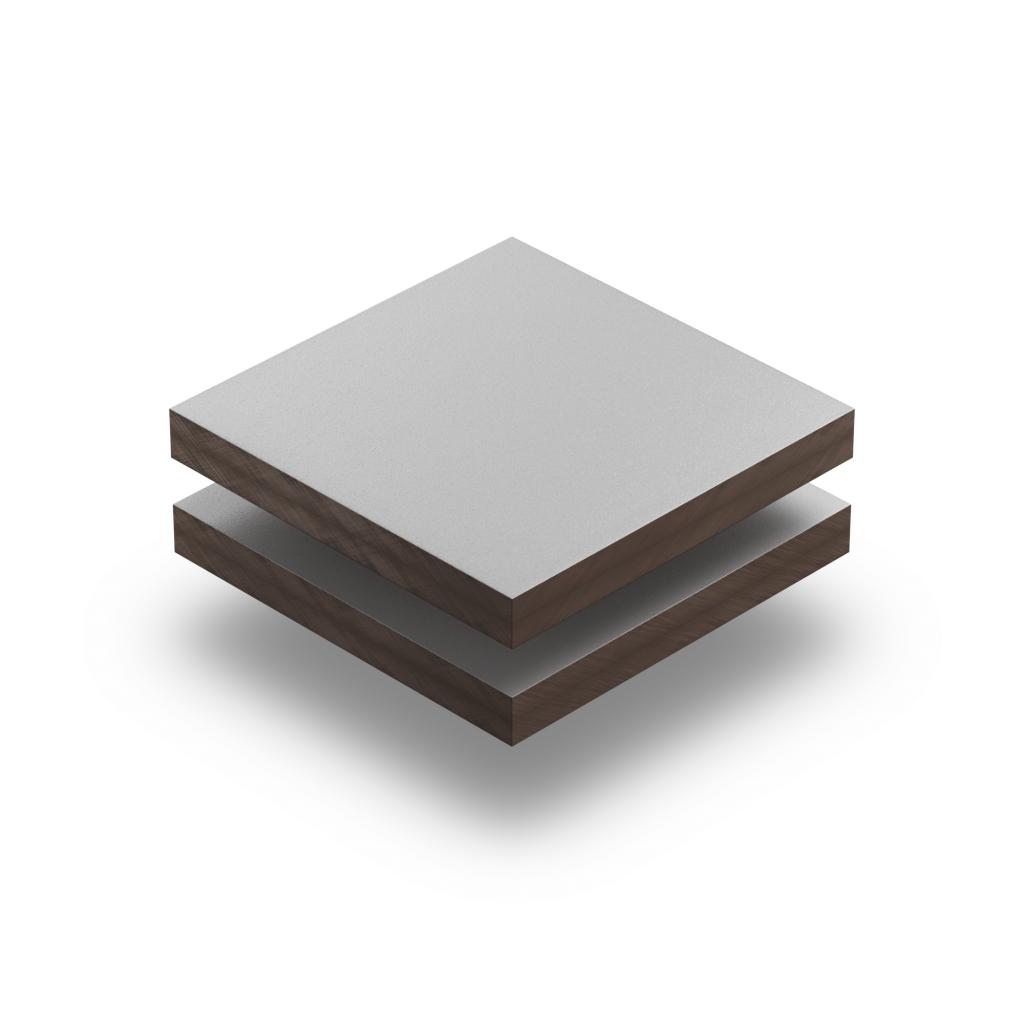Panneau HPL structuré gris clair