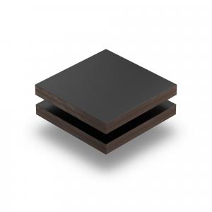 Panneau HPL structuré noir foncé