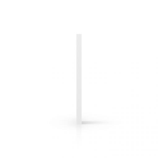 Cote PVC expansé blanc