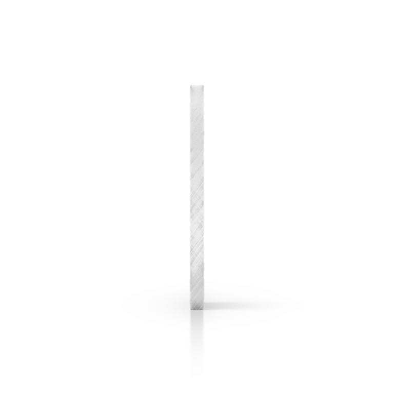 Cote plaque plexiglass miroir argent