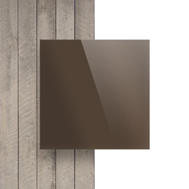 Devant plaque Plexiglass miroir bronze
