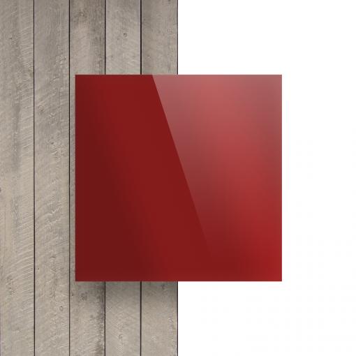 Devant plaque Plexiglass miroir rouge
