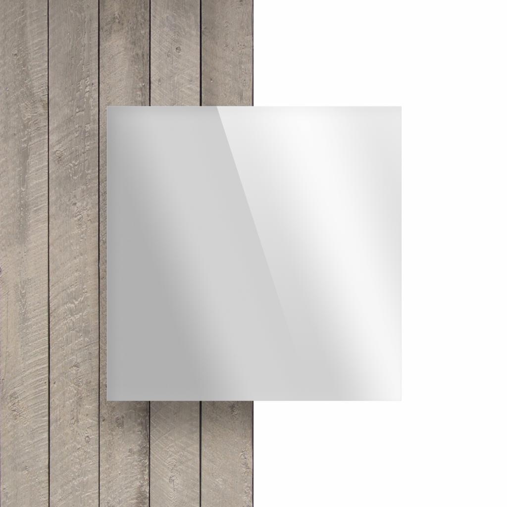 Devant plaque Plexiglass mirour argent