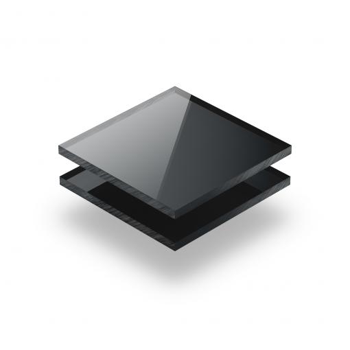 Plexiglass mirroir anthracite