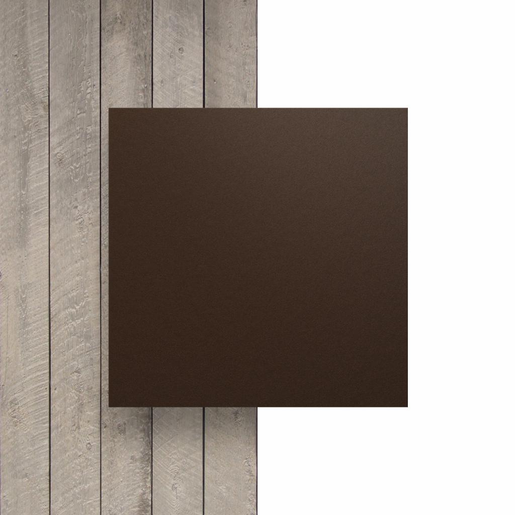 Devant HPL brun chocolat