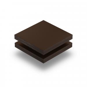 Panneau HPL structuré brun chocolat